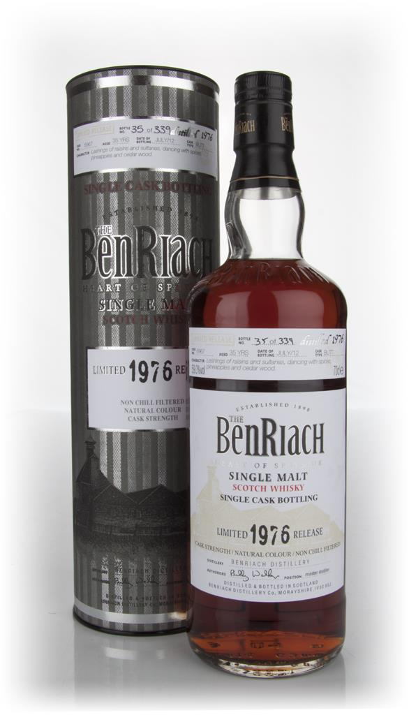BenRiach 35 Year Old 1976 Sherry Butt Single Malt Whisky