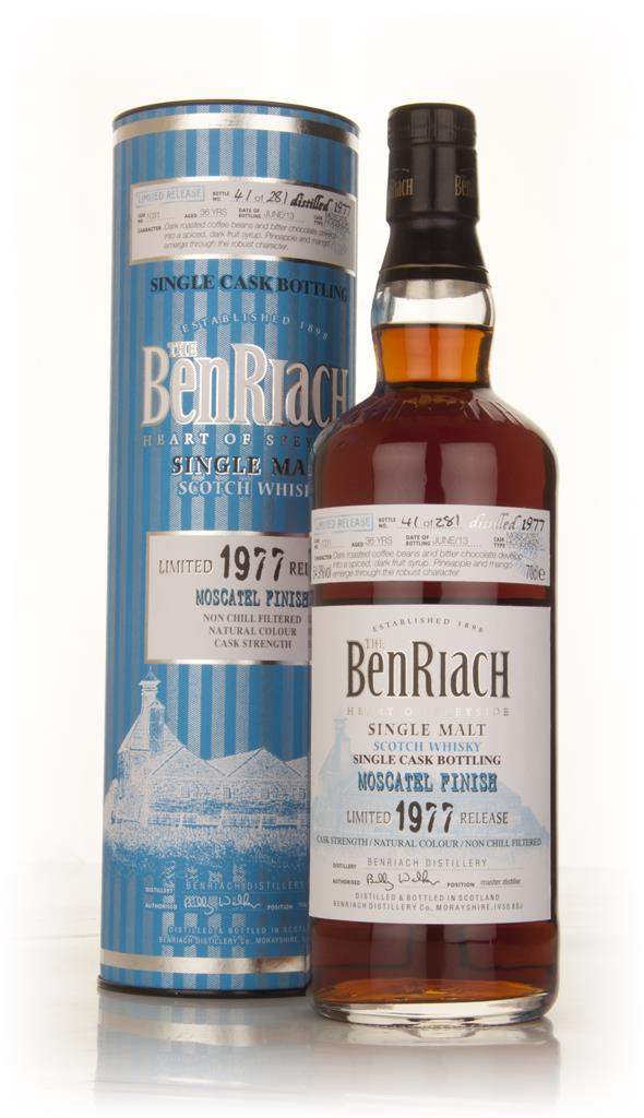 BenRiach 36 Year Old 1977 (cask 1031) - Moscatel Cask Finish Single Malt Whisky