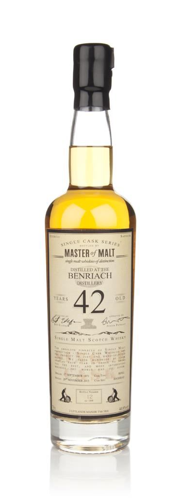 BenRiach 42 Year Old 1971 - Single Cask (Master of Malt) Single Malt Whisky