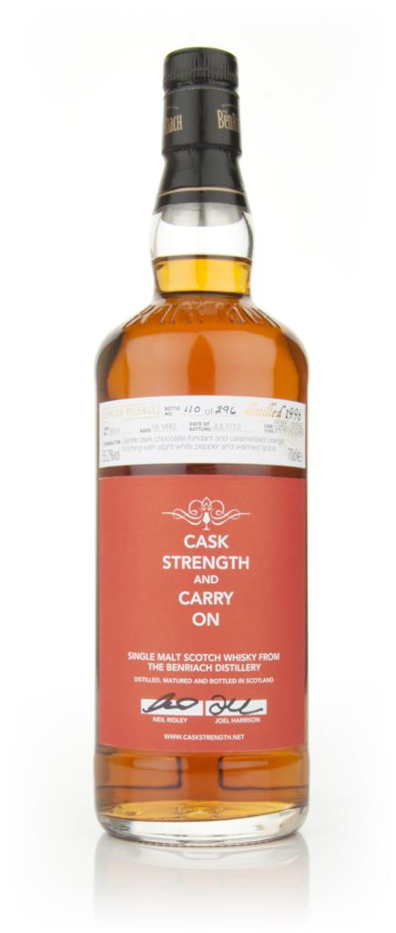 Caskstrength and Carry On (BenRiach) Single Malt Whisky
