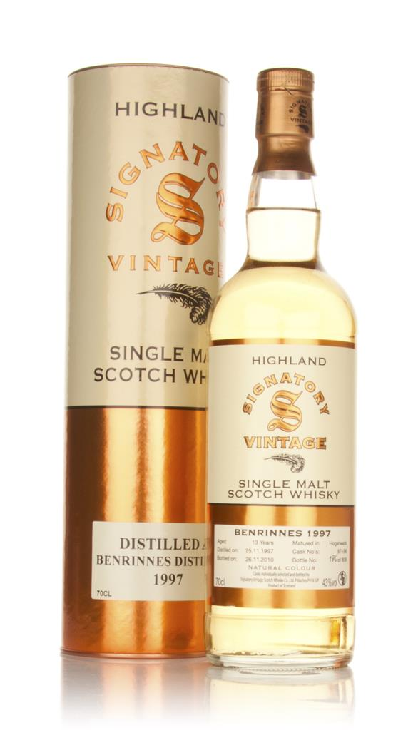 Benrinnes 13 Year Old 1997 (Signatory) Single Malt Whisky