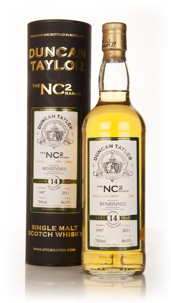 Benrinnes 14 Year Old 1997 - NC2 (Duncan Taylor) Single Malt Whisky