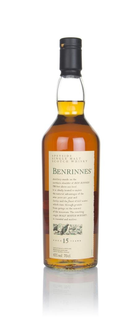 Benrinnes 15 Year Old - Flora and Fauna Single Malt Whisky