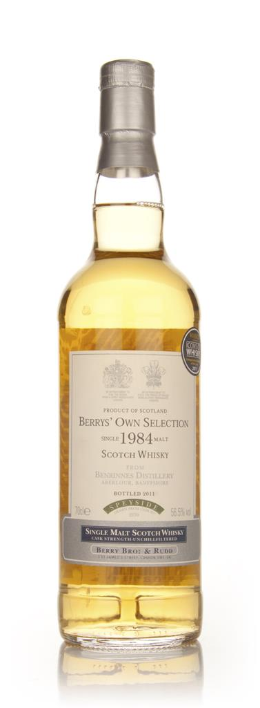Benrinnes 1984 Cask 2270 (Berry Bros. & Rudd) Single Malt Whisky