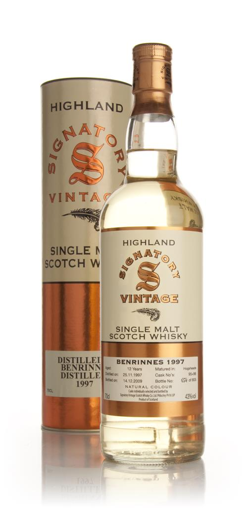 Benrinnes 12 Year Old 1997 (Signatory) Single Malt Whisky