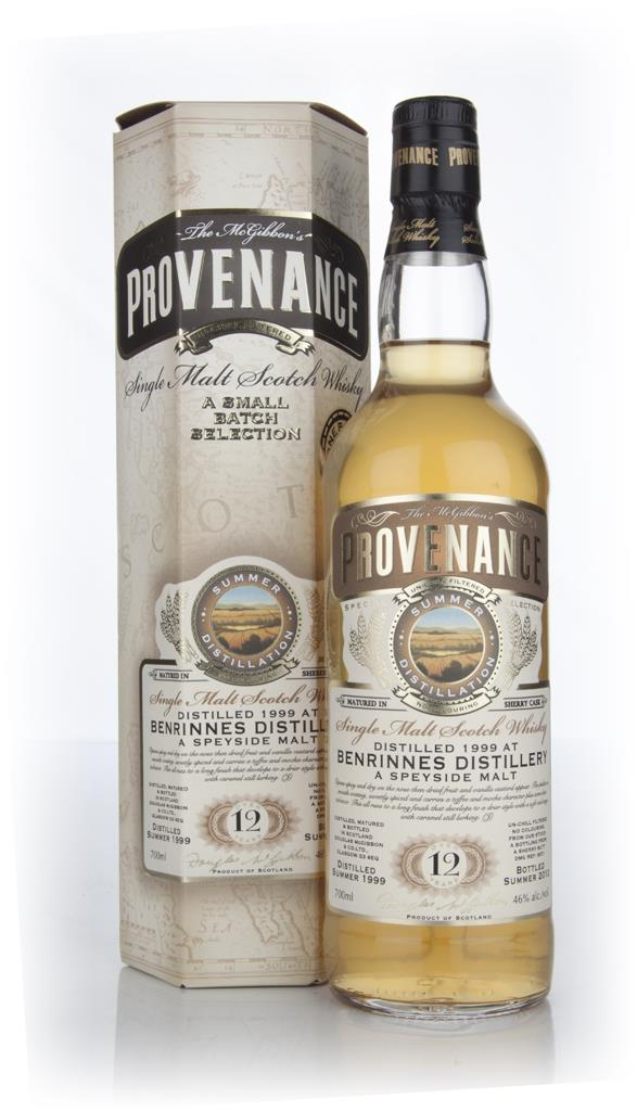 Benrinnes 12 Year Old 1999 Cask 8571 - Provenance (Douglas Laing) Single Malt Whisky