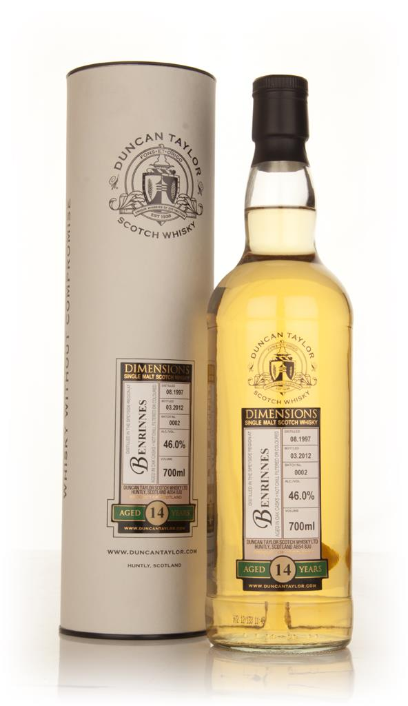 Benrinnes 14yo 1997 - Dimensions (Duncan Taylor) Single Malt Whisky