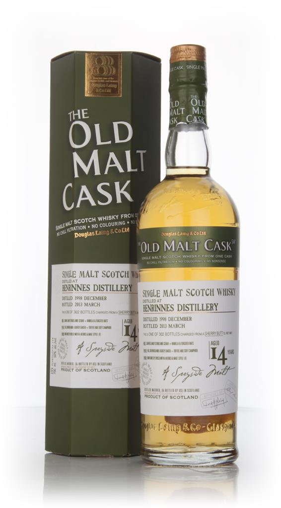 Benrinnes 14 Year Old 1998 (cask 9631) - Old Malt Cask (Douglas Laing) Single Malt Whisky