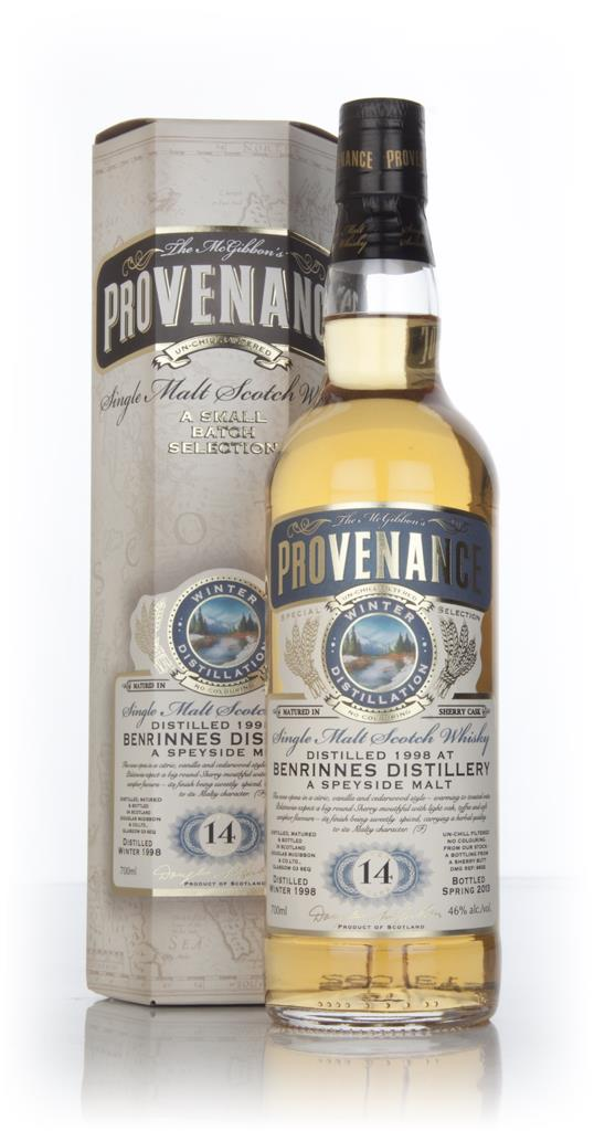 Benrinnes 14 Year Old 1998 (cask 9632) - Provenance (Douglas Laing) Single Malt Whisky