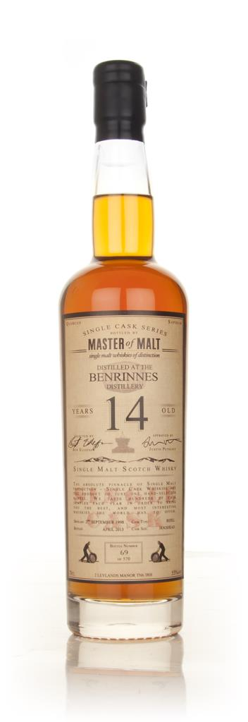 Benrinnes 14 Year Old 1998 - Single Cask (Master of Malt) Single Malt Whisky