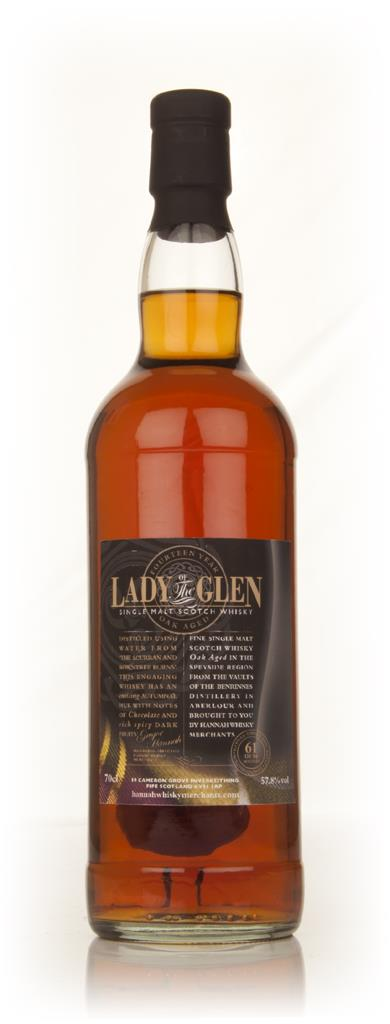 Benrinnes 14 Year Old - Lady Of The Glen (Hannah Whisky Merchants) Single Malt Whisky