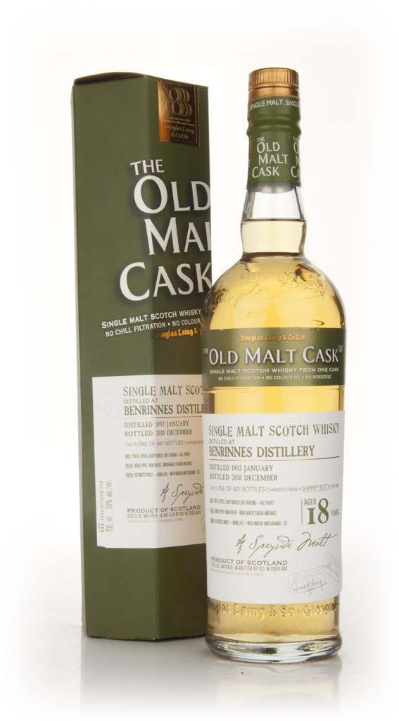 Benrinnes 18 Year Old 1992 - Old Malt Cask (Douglas Laing) Single Malt Whisky