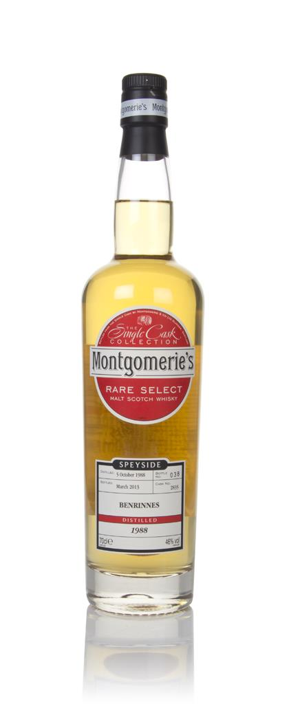 Benrinnes 24 Year Old 1988 (cask 2835) - Rare Select (Montgomerie's) Single Malt Whisky