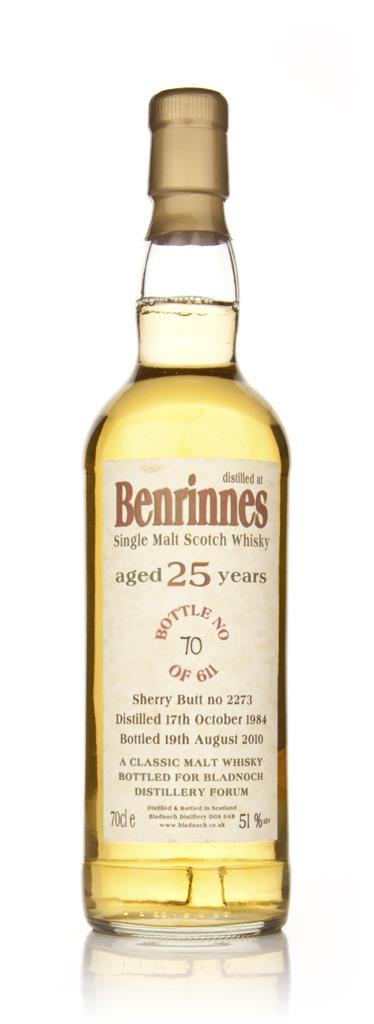Benrinnes 25 Year Old 1984 Cask 2273 (Bladnoch) Single Malt Whisky
