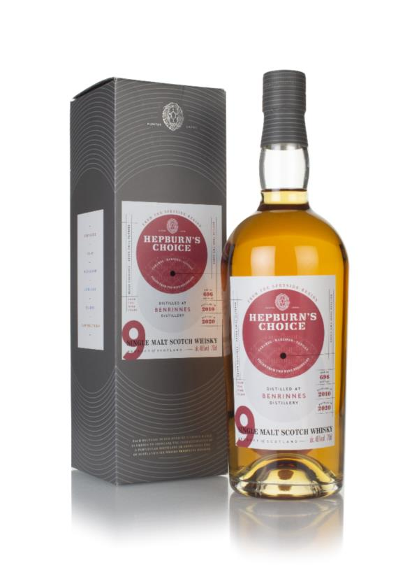 Benrinnes 9 Year Old 2010 - Hepburn's Choice (Langside) Single Malt Whisky