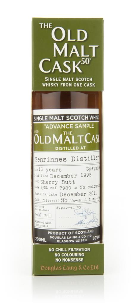 Benrinnes 13 Year Old 1998 - Old Malt Cask  (Douglas Laing) Single Malt Whisky
