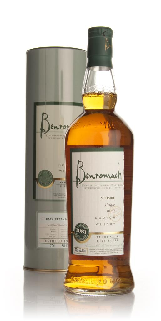 Benromach 1981 Single Malt Whisky