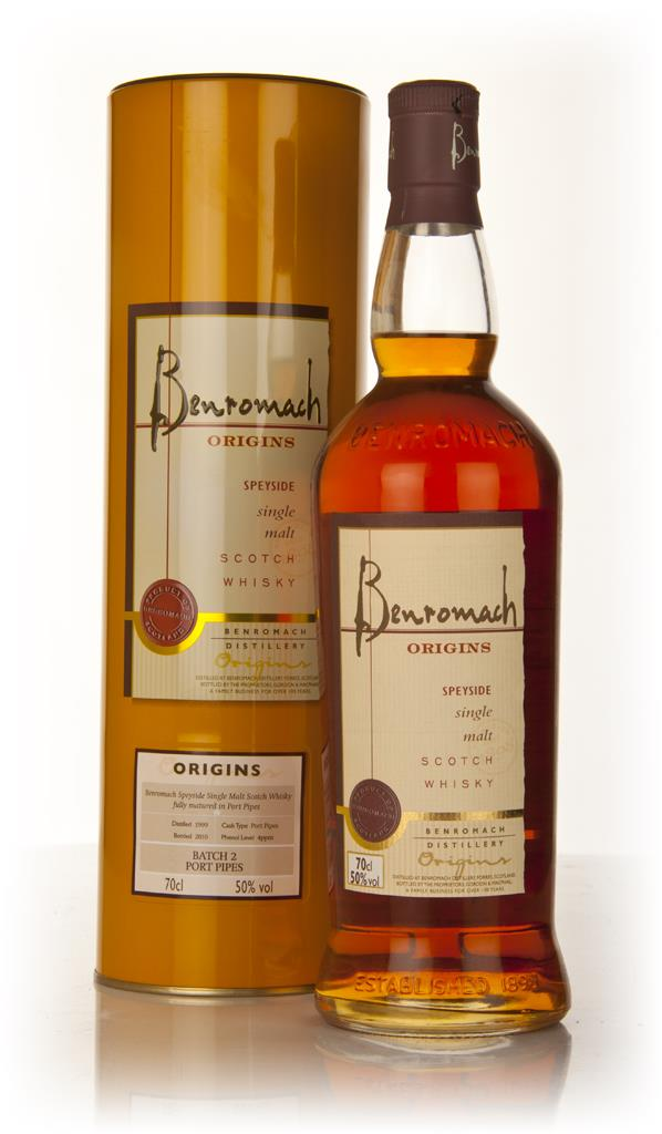 Benromach Origins 1999 Batch 2 Port Pipes Single Malt Whisky