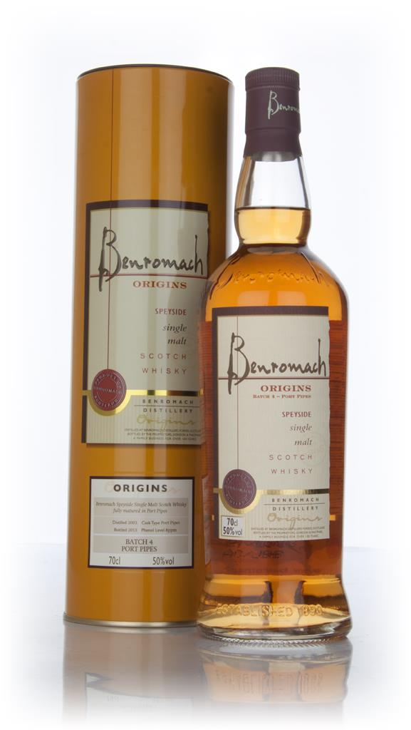 Benromach Origins 2003 - Batch 4 (Port Pipes) Single Malt Whisky