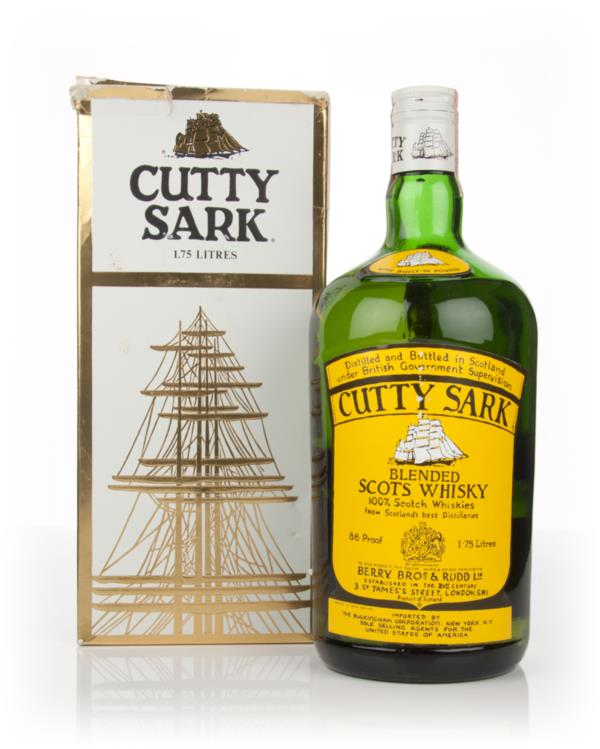 Berry Bros. & Rudd Cutty Sark 1.75ltr - 1980s Blended Whisky