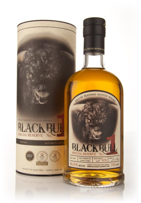 Black Bull Special Reserve Number 1 Single Malt Whisky