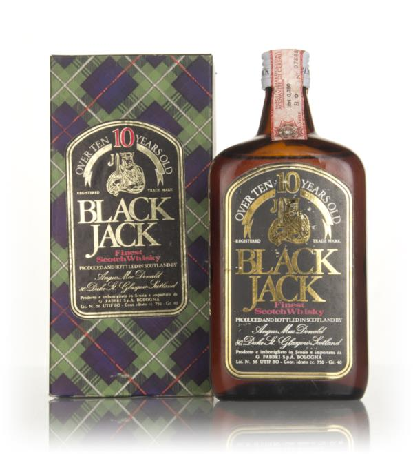 Black Jack 10 Year Old - 1970s Blended Whisky