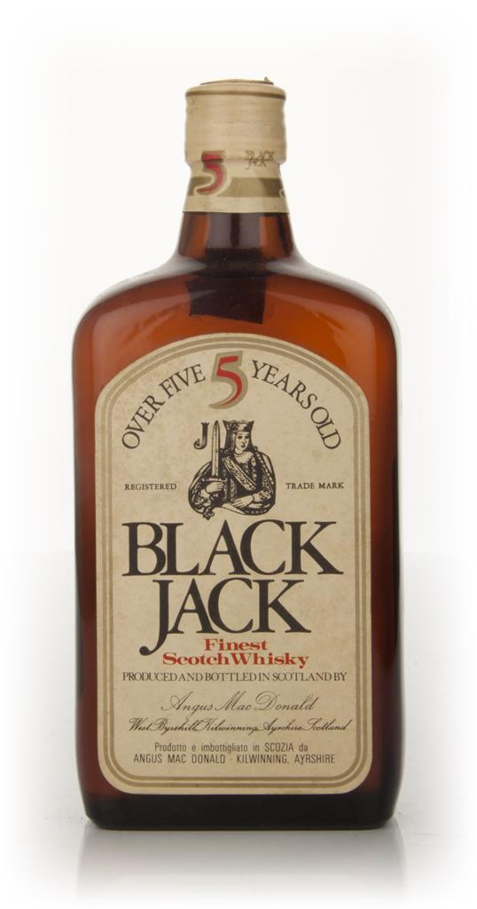 Black Jack 5 Year Old - 1970s Blended Whisky