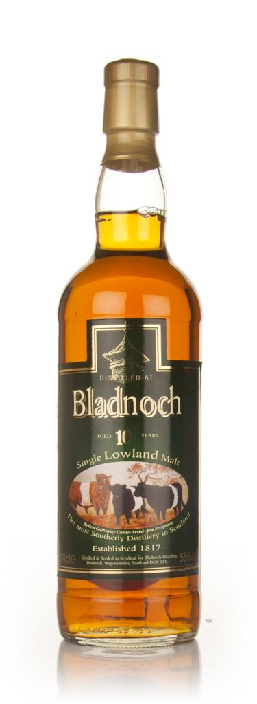Bladnoch 10 Year Old - Cow Label Single Malt Whisky