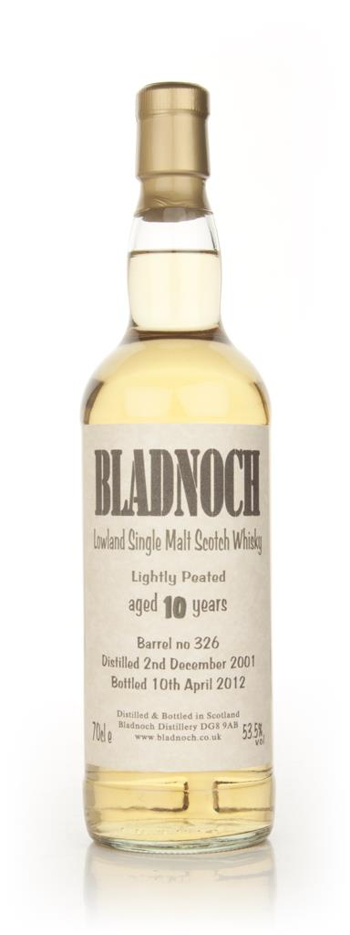 Bladnoch 10 Year Old Lightly Peated Single Malt Whisky