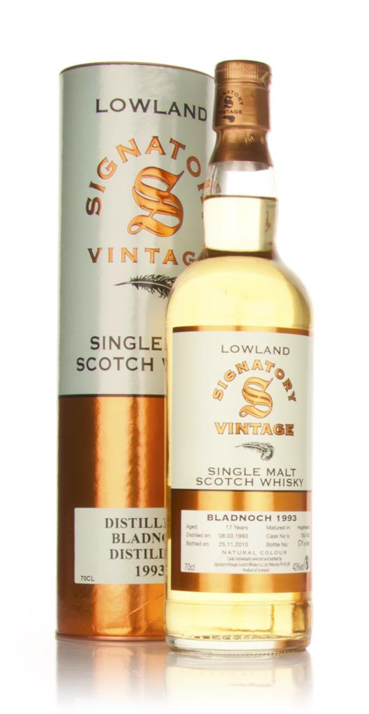 Bladnoch 17 Year Old 1993 (Signatory) Single Malt Whisky