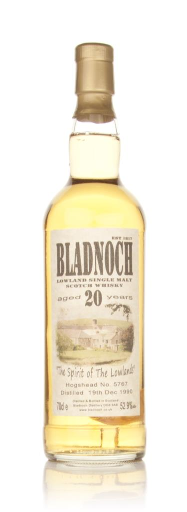 Bladnoch 20 Year Old 1990 Cask 5767 Single Malt Whisky