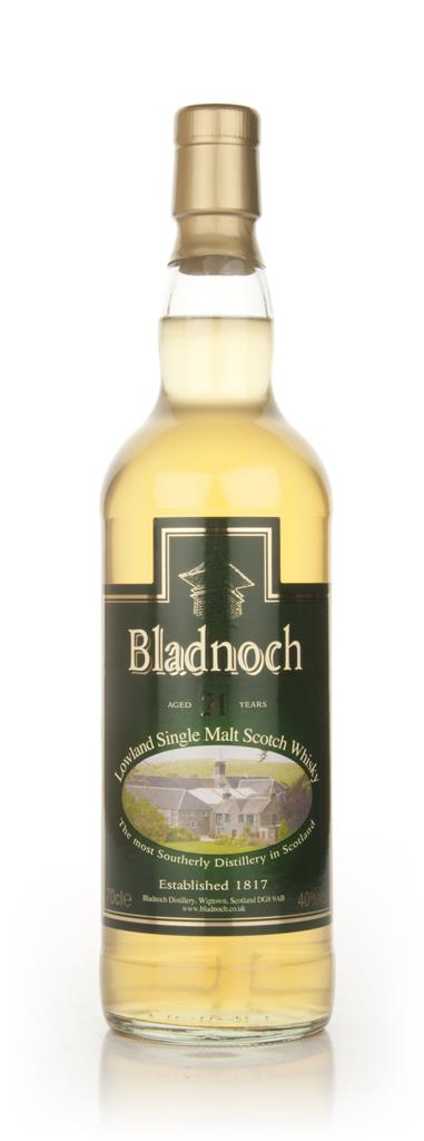 Bladnoch 21 Year Old - Distillery Label Single Malt Whisky