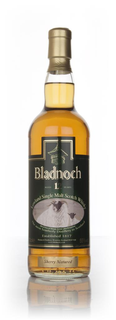 Bladnoch 12 Year Old Sherry Cask Matured - Sheep Label Single Malt Whisky