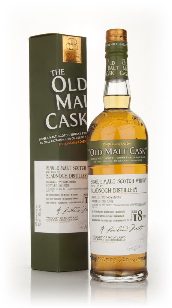 Bladnoch 18 Year Old 1992 - Old Malt Cask (Douglas Laing) Single Malt Whisky