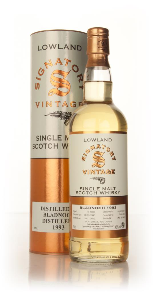 Bladnoch 19 Year Old 1993 (casks 759+766) - (Signatory) Single Malt Whisky