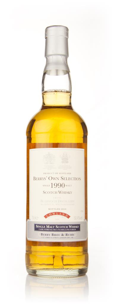 Bladnoch 1990 (Berry Brothers and Rudd) Single Malt Whisky