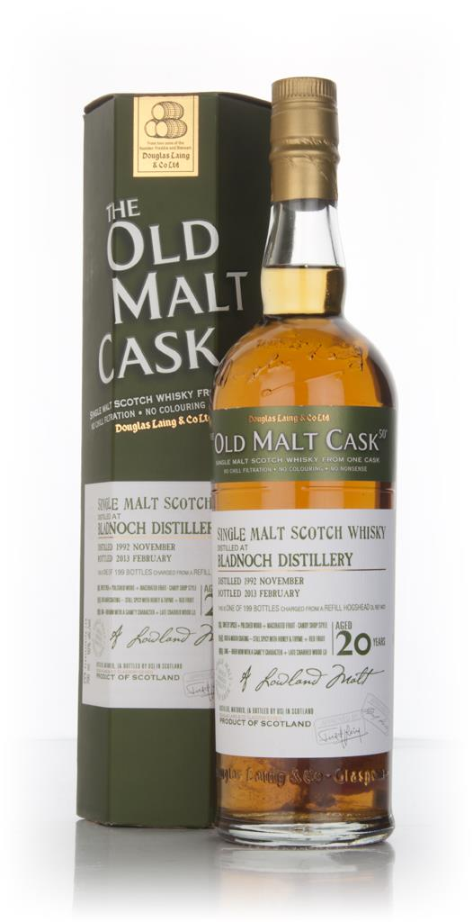 Bladnoch 20 Year Old 1992 (cask 9431) - Old Malt Cask (Douglas Laing) Single Malt Whisky