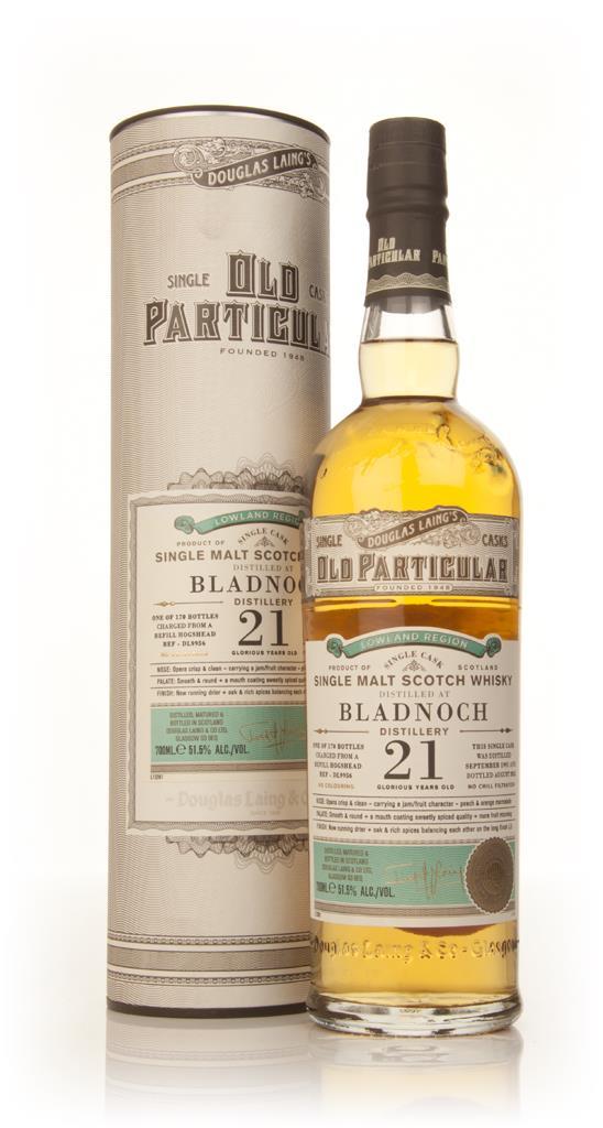 Bladnoch 21 Year Old 1991 (cask 9956) - Old Particular (Douglas Laing) Single Malt Whisky