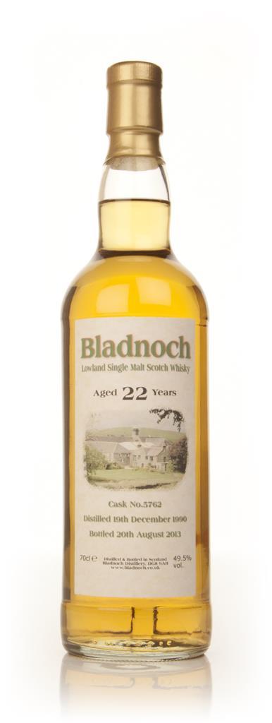 Bladnoch 22 Year Old 1990 (cask 5762) Single Malt Whisky
