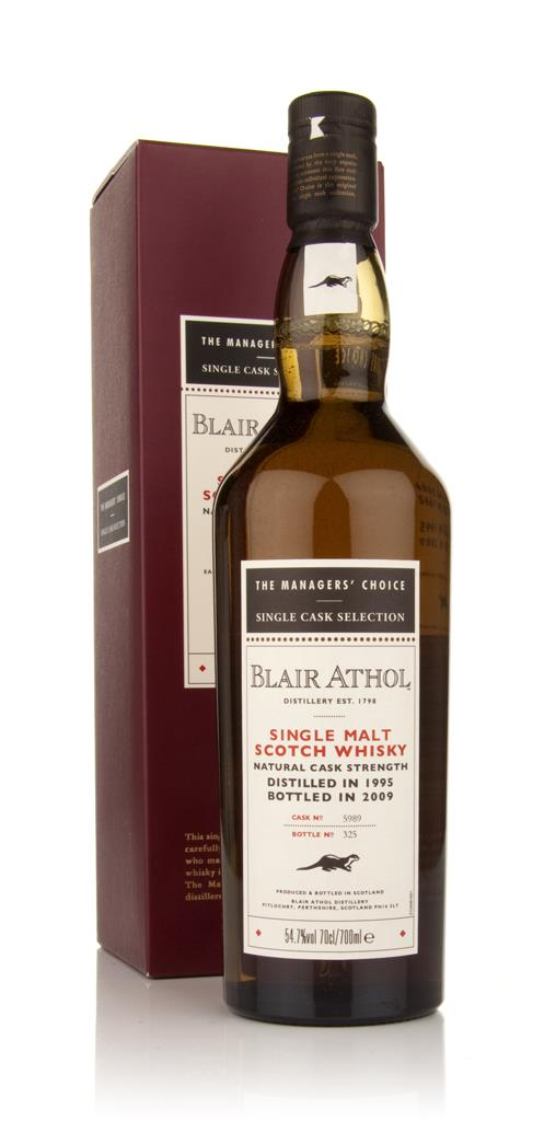 Blair Athol 1995 - Managers Choice Single Malt Whisky