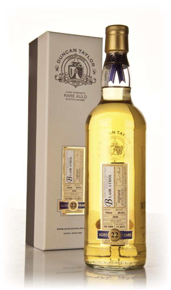 Blair Athol 22 Year Old 1989 - Rare Auld (Duncan Taylor) Single Malt Whisky