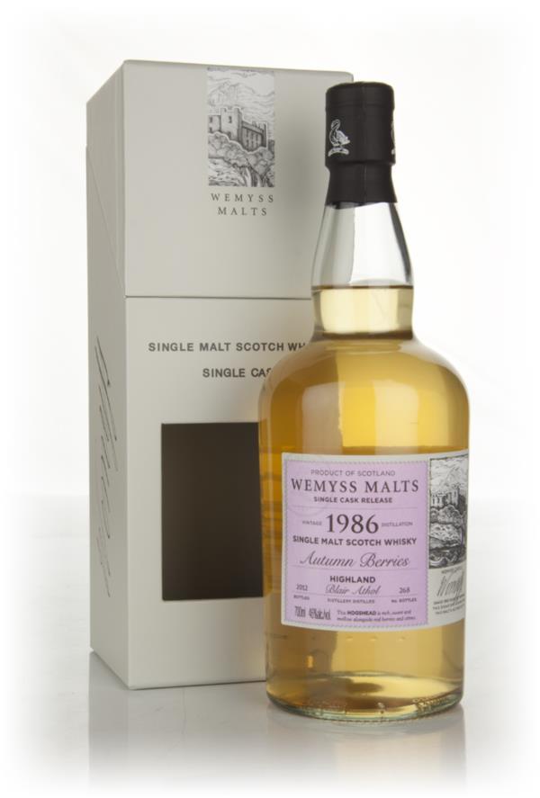 Autumn Berries 1986 - Wemyss Malts (Blair Athol) Single Malt Whisky