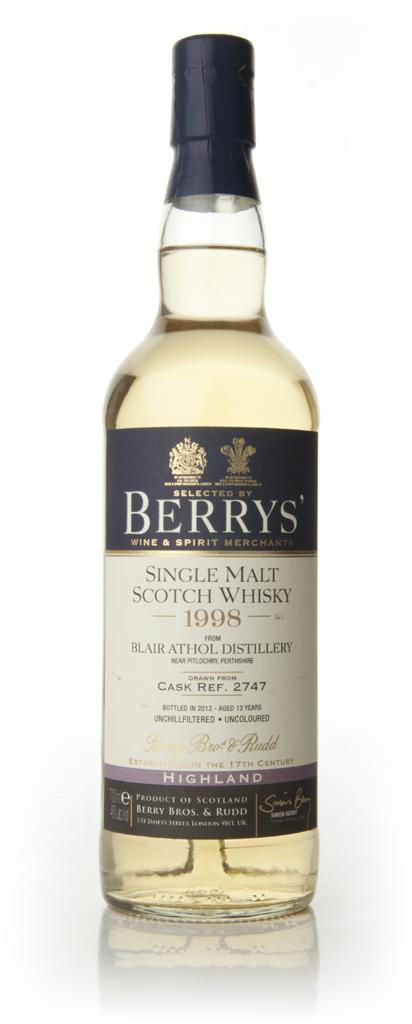 Blair Athol 13 Year Old 1998 - Berry Bros & Rudd Single Malt Whisky