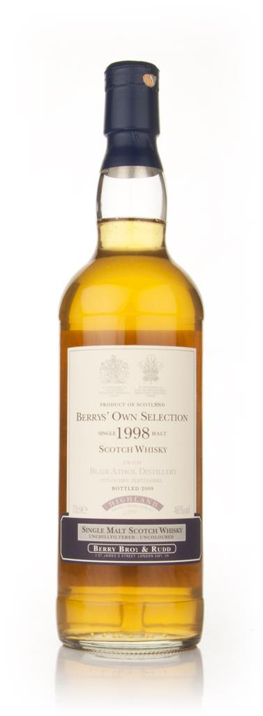 Blair Athol 1998 (Berry Brothers and Rudd) Single Malt Whisky