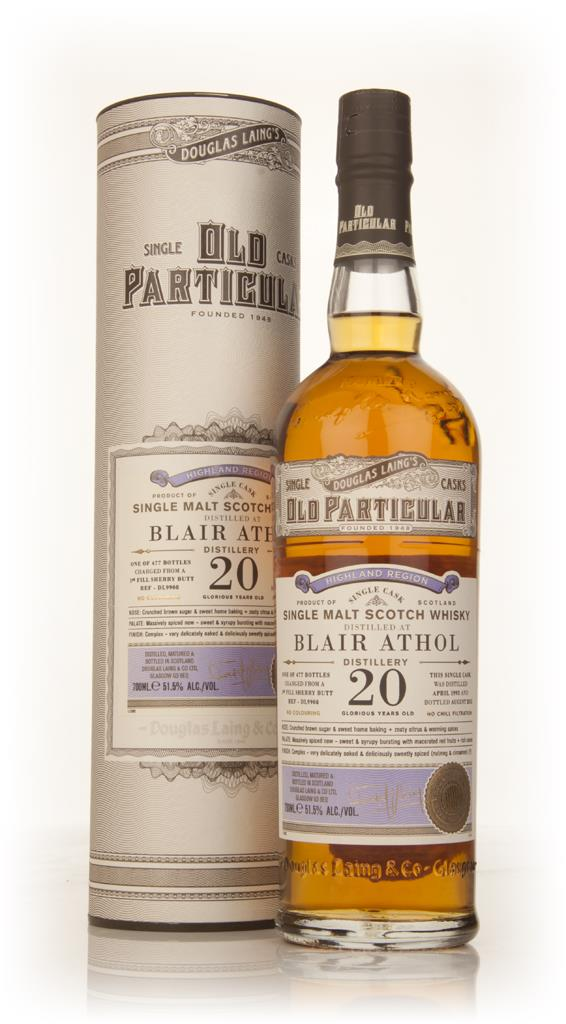Blair Athol 20 Year Old 1993 (cask 9908) - Old Particular (Douglas Lai Single Malt Whisky