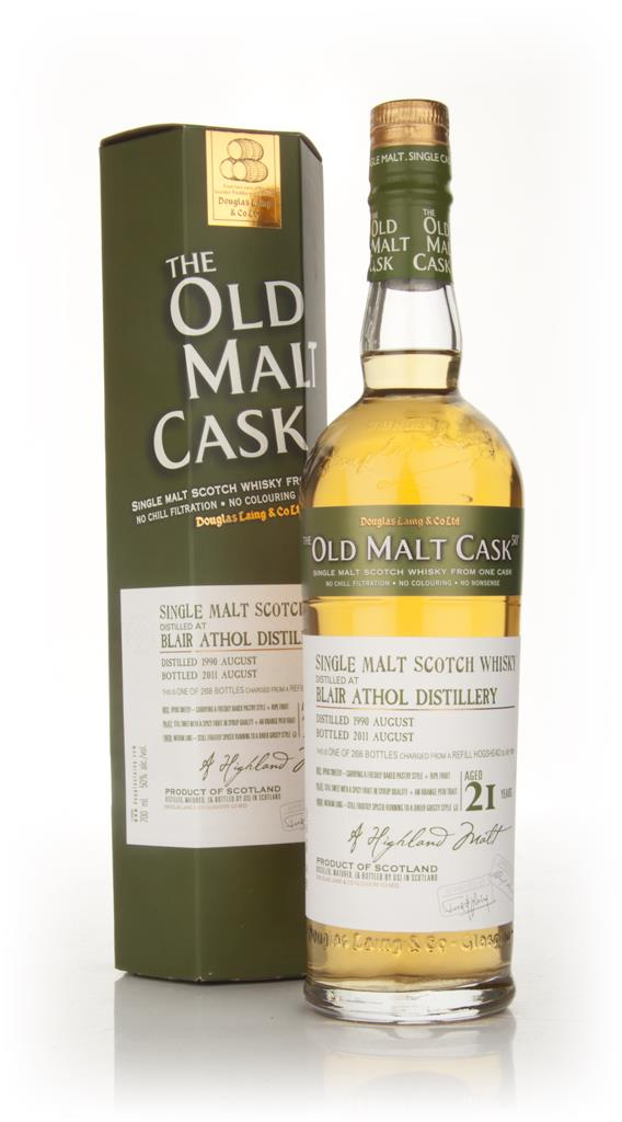 Blair Athol 21 Year Old 1990 - Old Malt Cask (Douglas Laing) Single Malt Whisky