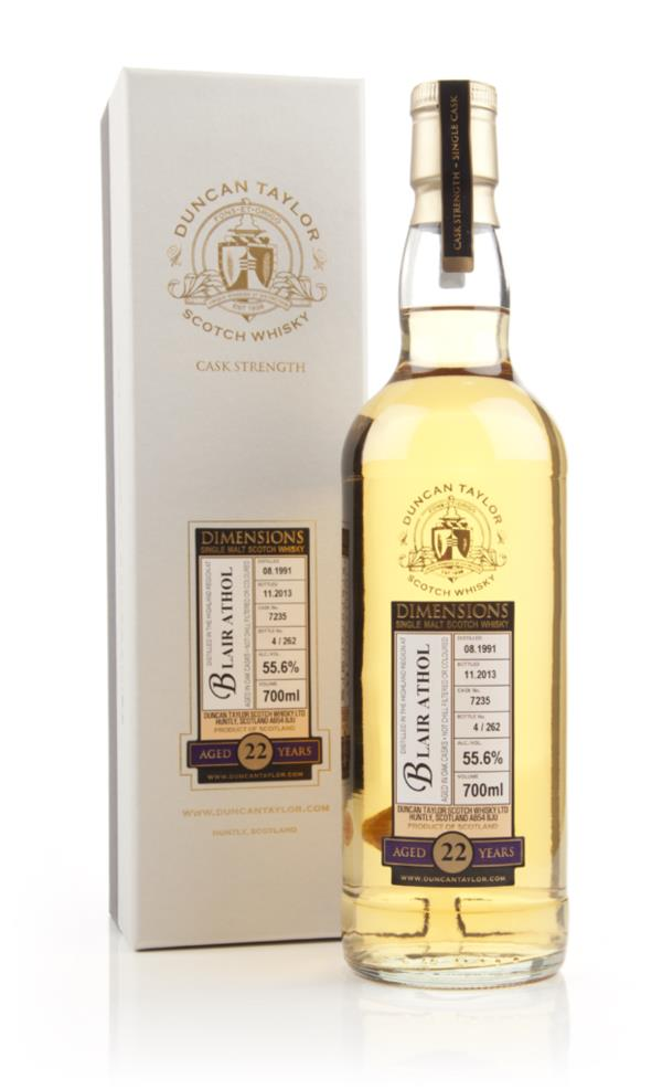 Blair Athol 22 Year Old 1991 (cask 7235) - Dimensions (Duncan Taylor) Single Malt Whisky