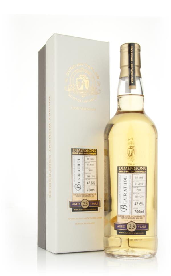 Blair Athol 23 Year Old 1989 - Dimensions (Duncan Taylor) Single Malt Whisky