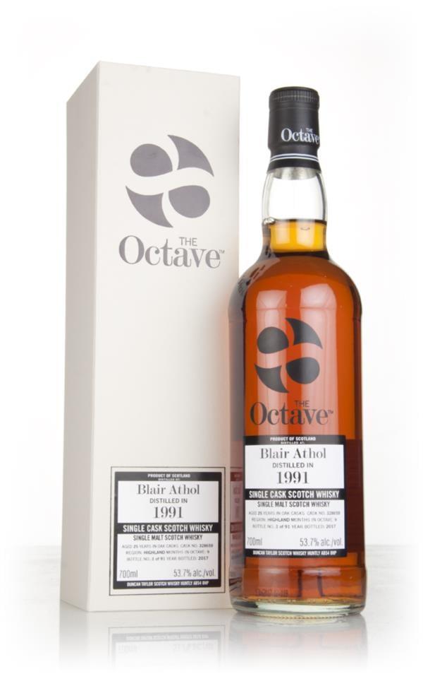 Blair Athol 25 Year Old 1991 (cask 328659) - The Octave (Duncan Taylor Single Malt Whisky 3cl Sample