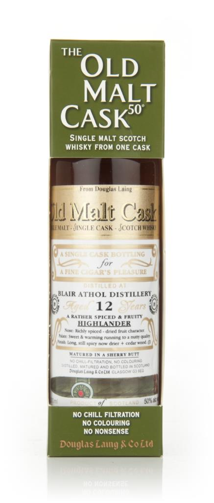Blair Athol 12 Year Old 1999 - Old Malt Cask - Cigar Malt l (Douglas L Single Malt Whisky